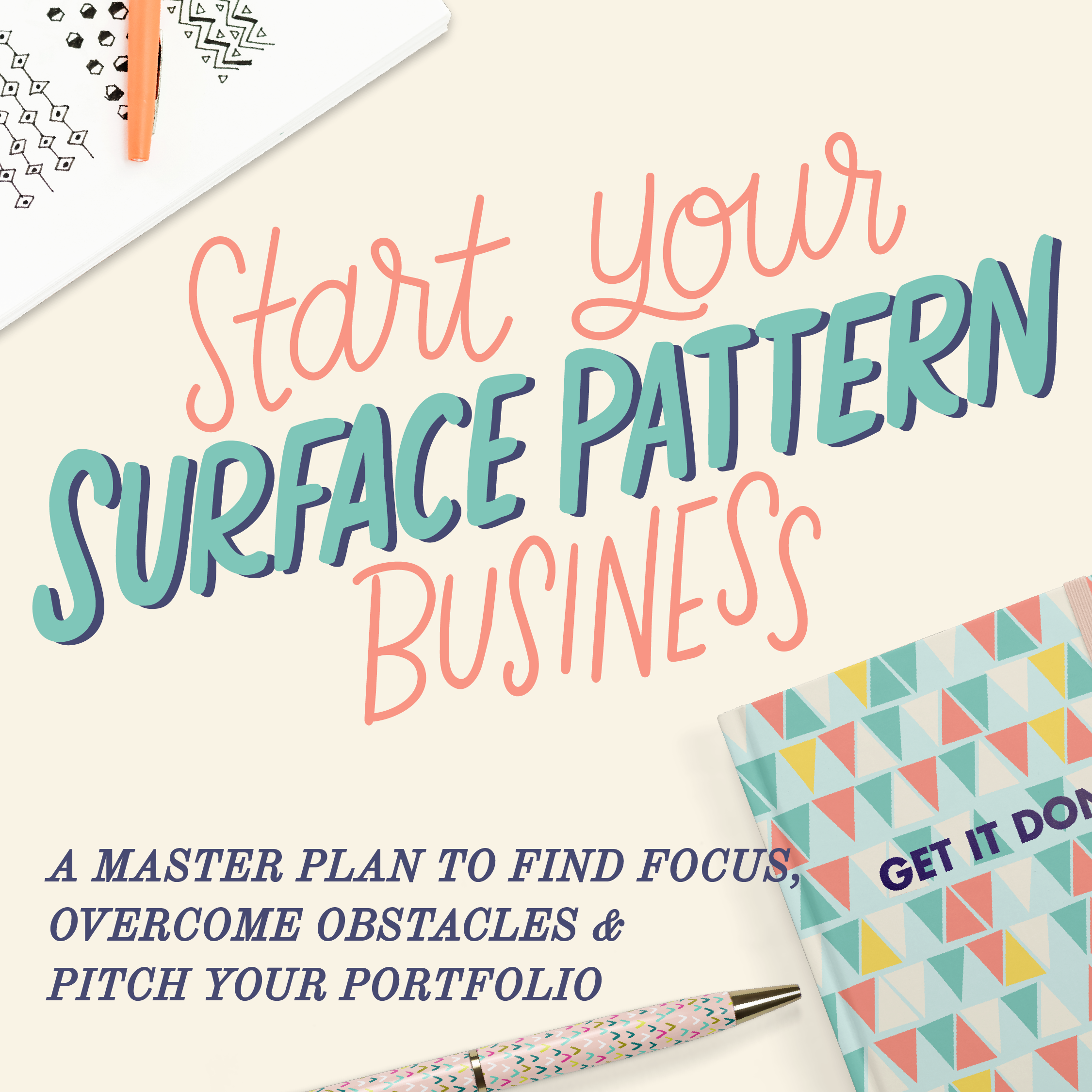 Start Your Surface Pattern Business
