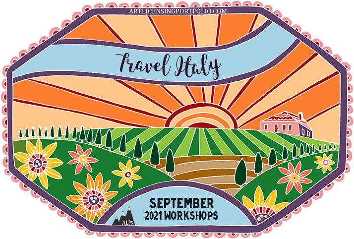 September Workshop – Let's Go to Italy!